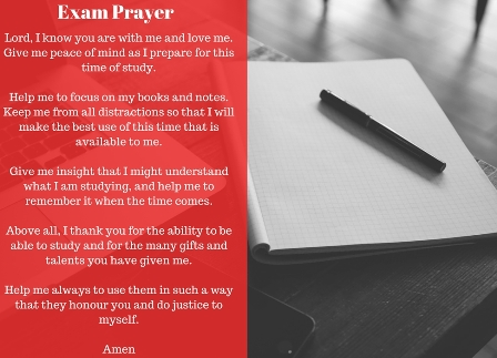 EXAM-PRAYER