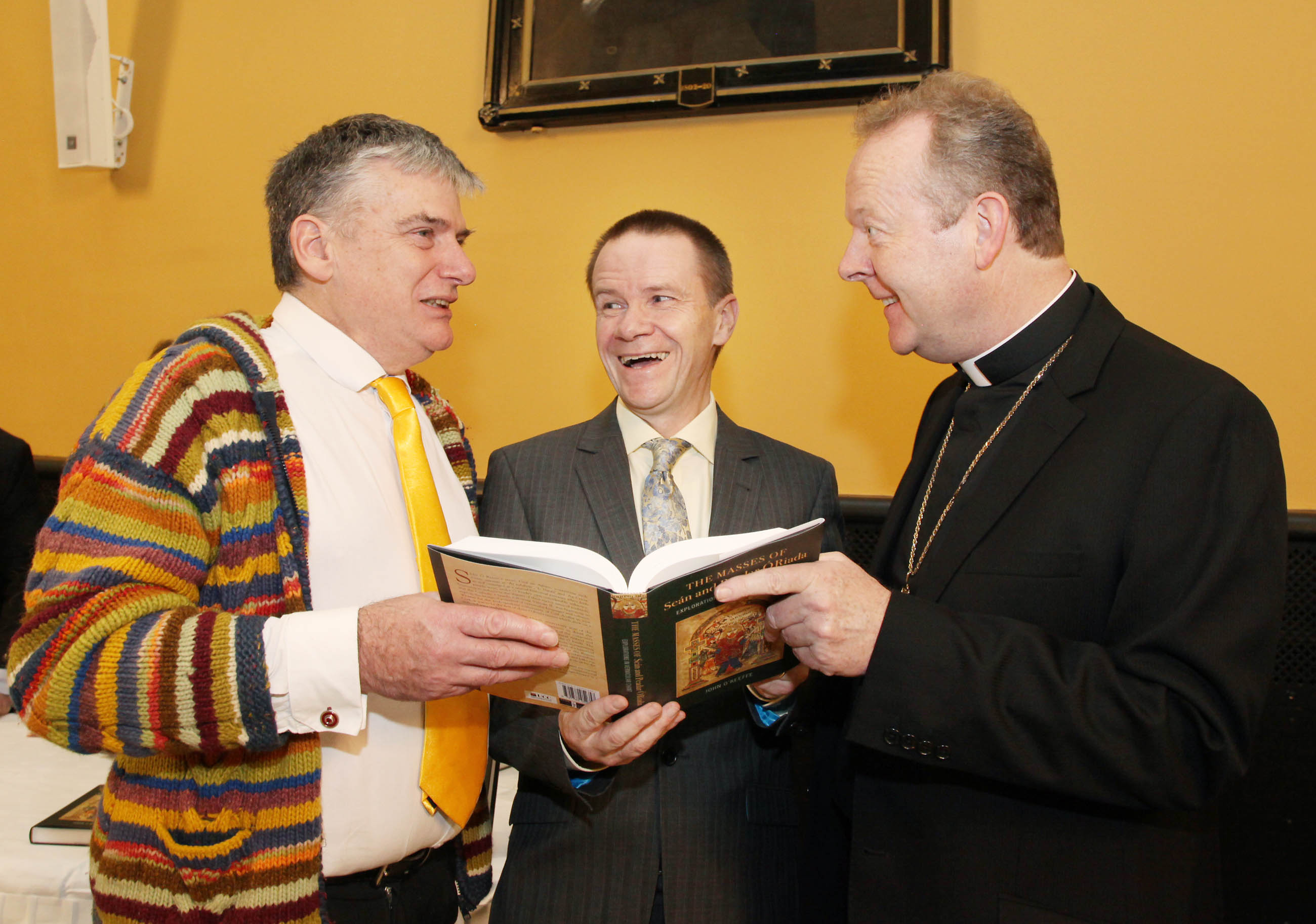 Launch of The Masses of Seán and Peadar Ó Riada