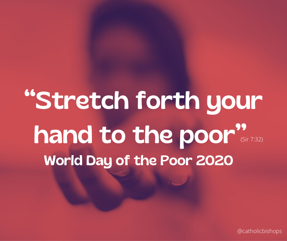 Pope's Message for World Day of the Poor